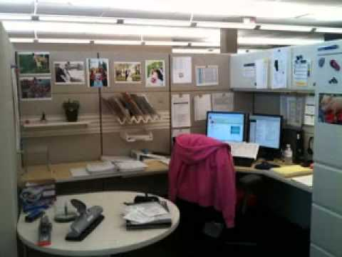 diy office cubicle decorating ideas - youtube