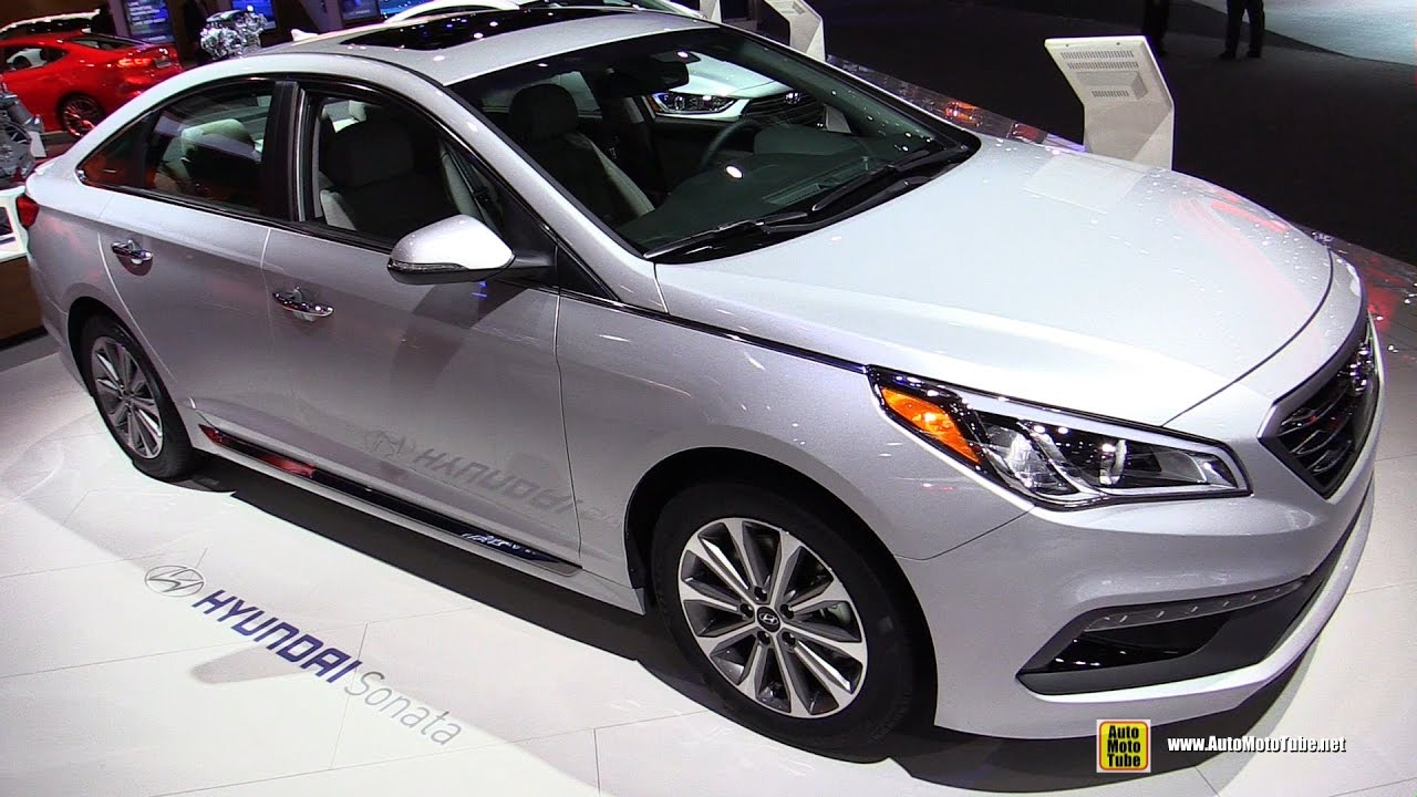 2017 Hyundai Sonata Limited Exterior And Interior Walkaround Detroit Auto Show