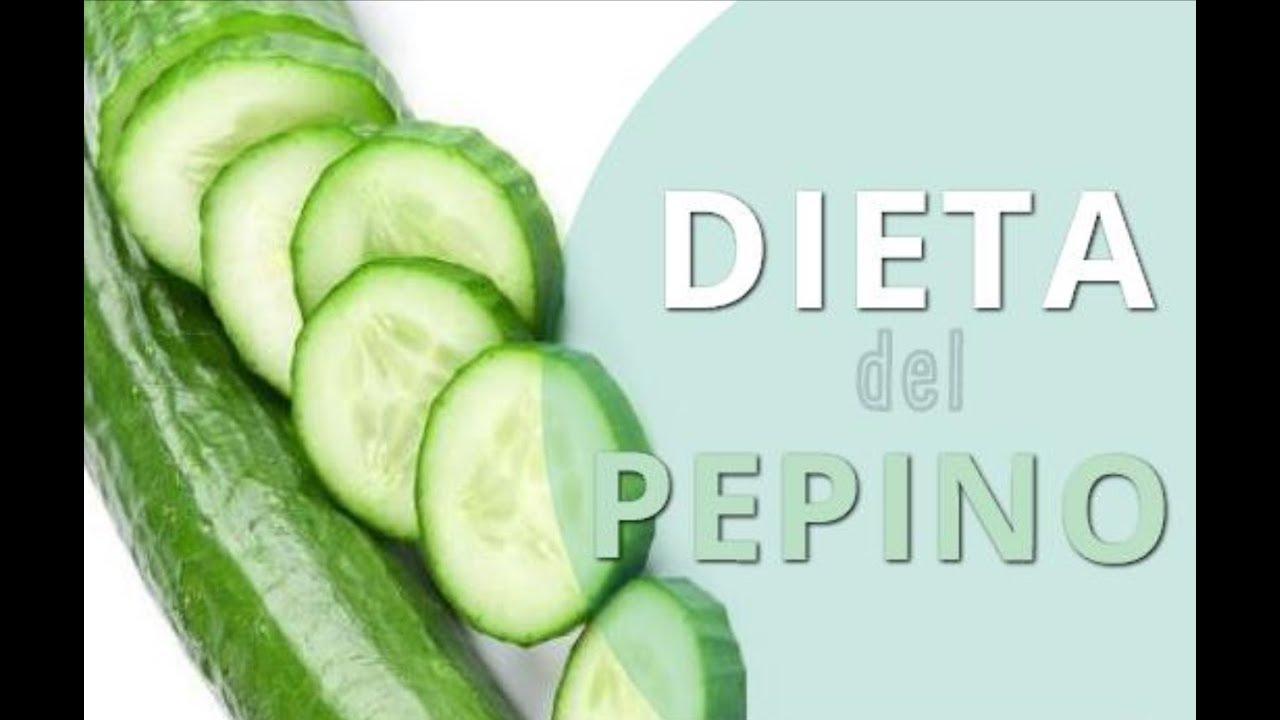 Dieta de pepino para adelgazar