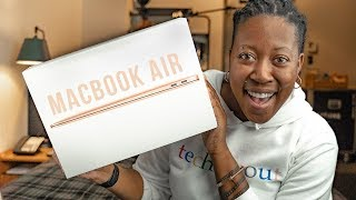 2018 MacBook Air Unboxing - The NEW Gold Edition!