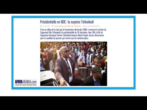 """Présidentielle en RD Congo : """"La surprise Tshisekedi"""""""