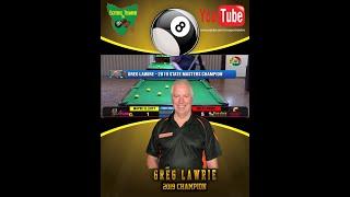 Tasmanian Masters Singles 2019