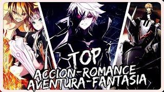 5 Animes con Generos: Acción, Aventura, Comedia, Fantasía, Romance