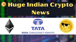 Huge Indian Crypto News | TCS Offer Cryptocurrency Trading | Ethereum 2.0,  DOGE Coin TikTok | HINDI