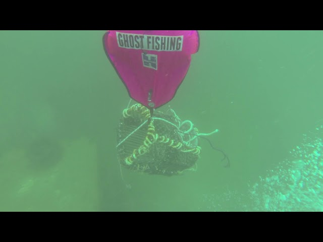 Ghost Fishing UK - Training course, Beta Class
