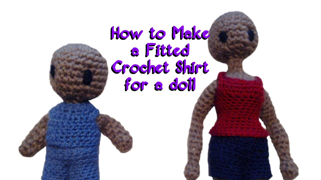 Crochet Doll FREE pattern for clothing – Family Bugs Crochet Designs | 720x1280
