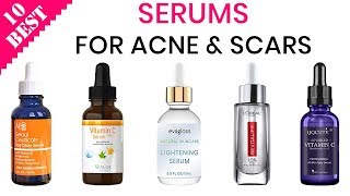 10 Best Serums for Oily Skin, Acne, and Scars 2019