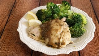 Keto Recipe - Lemon & Rosemary Roasted Chicken Thighs