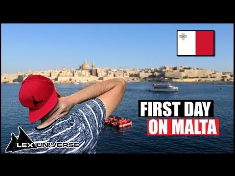 🇲🇹 VALLETTA - First impresssions of MALTA [LEX in MALTA 2/6]