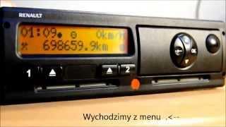 Ustawienie czasu w tachografie cyfrowym