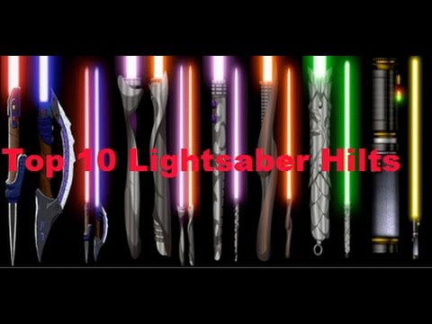 Top 10 Lightsaber Hilts Designs May The 4th 2017 Youtube