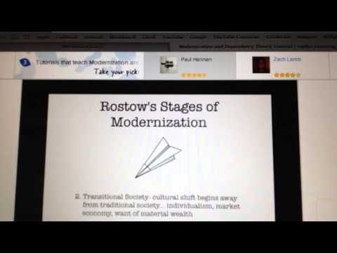 Modernization theory for sociology