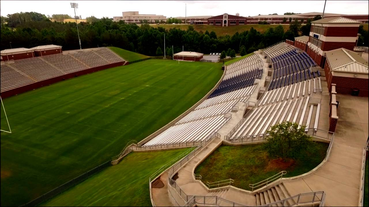 Drone Tour - Dorman High School in Moore, SC - YouTube