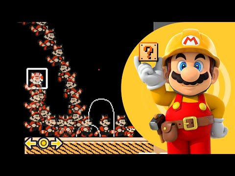 Super Mario Maker - Leap of Faith