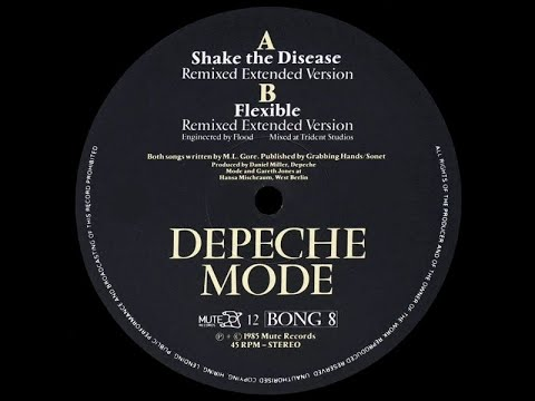 Depeche Mode - Shake The Disease (Remixed Extended)