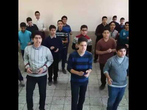 A performance of us in our English class at school