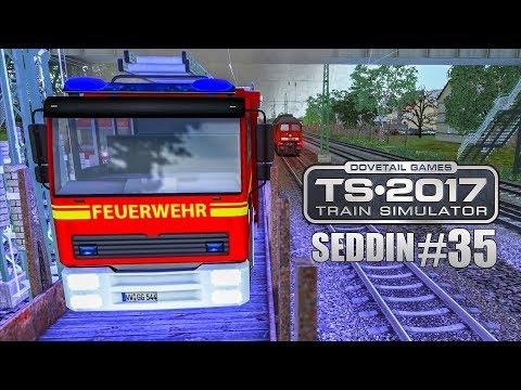 TRAIN SIMULATOR 2017 #35: Feuerwehreinsatz an der Strecke! Schwere Fracht für Seddin