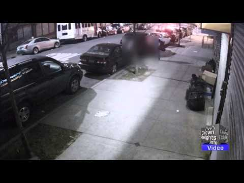 Couple Burglarize Parked Car in Crown Heights, Brooklyn - Full Video