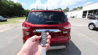 2016 Ford Escape with Titanium Package - Condition Report and Review at Ravenel Ford