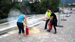 Обучение по противопожарна охрана 06.06.2011