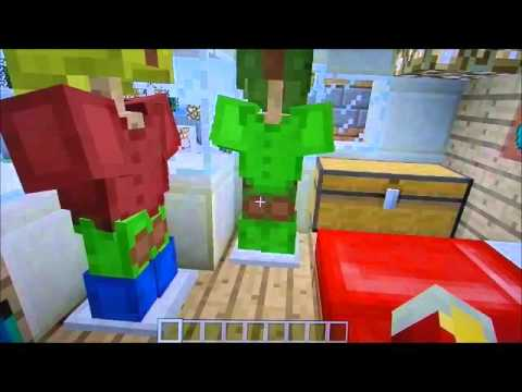 Minecraft World Demonstration