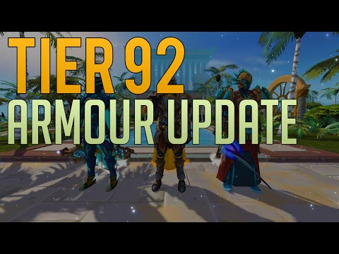 The Long Awaited Tier 92 Armour Update