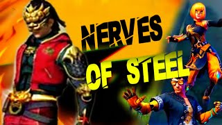 "NEW DIAMOND ROYAL-NERVES OF STEEL // NEW ""DUO LUNER"" BUNDLE  DETAILS - Garena Free Fire"