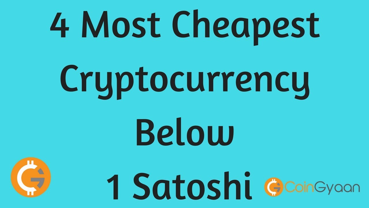 cheapest cryptocurrency to buy