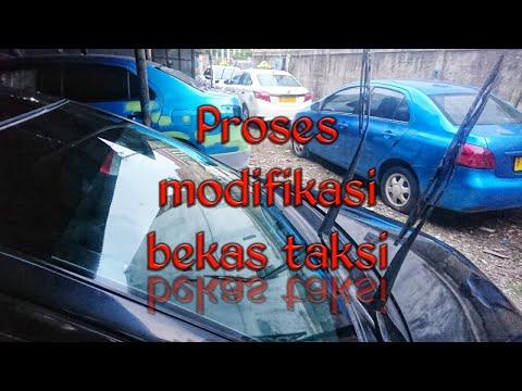 Proses Modifikasi Vios Limo Upgrade Kembar Bekas Taksi 2010 2011 Part 1