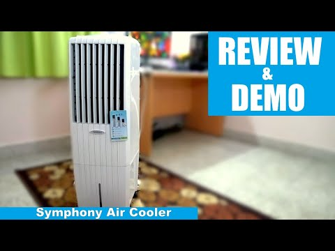 Symphony Air Cooler - Diet 22i - Review & Demo