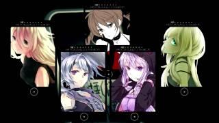 [Vocaloid Chorus] Persecution Complex Cellphone Girl (LOL) [7 girls + 1]