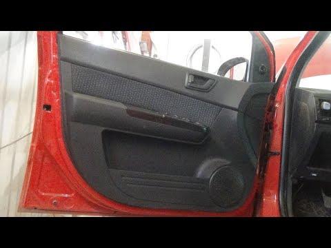 Как снять-поставить дверные обшивки, Hyundai Getz.