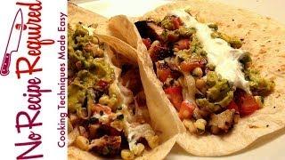 Chicken Soft Tacos - Noreciperequired.com