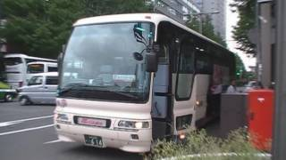 トラビスジャパン(花バス観光)\新高速乗合バス\長野県の旧高速ツアーバス\東京新宿→松本