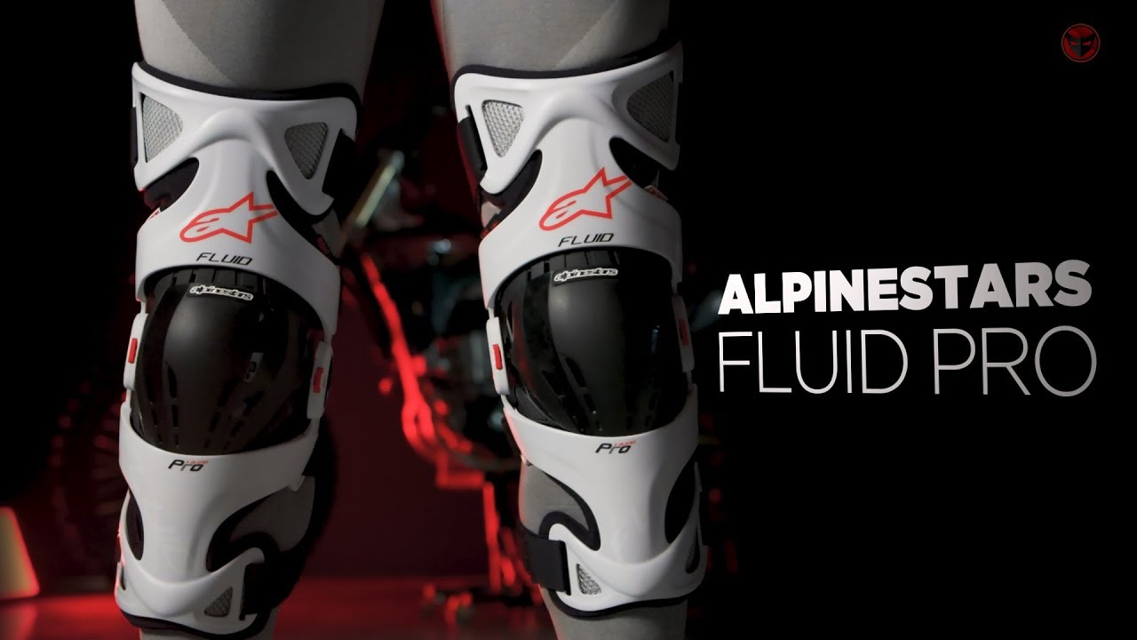Mx Knee Braces >> Alpinestars Fluid Pro Mx Knee Brace