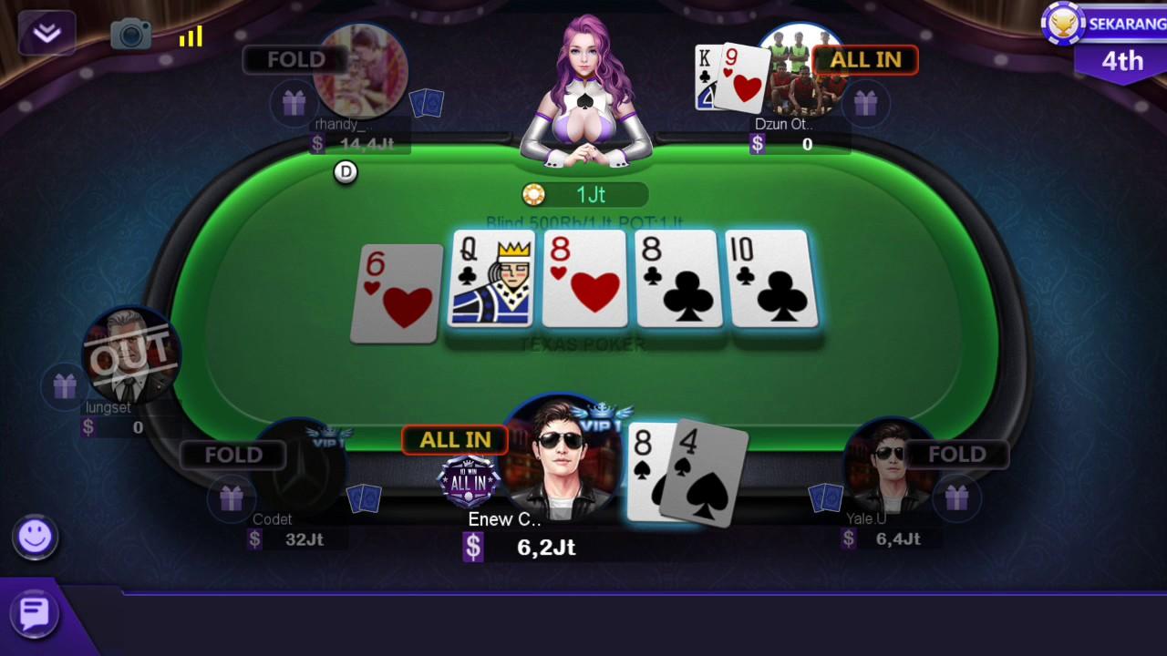 DeWA Poker QQ: Virtual Card Game That's Free - download