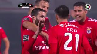 Goal | Golo Rafa: Tondela 1-(3) Benfica (Liga 18/19 #10)