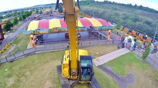 Spindizzy on-ride HD POV Diggerland Kent