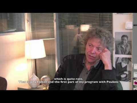 Pascal Rogé à propos de Francis Poulenc