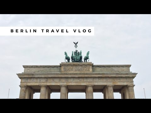 Berlin Germany Solo Travel Vlog ✈ 2016 | Chelsea Pearl