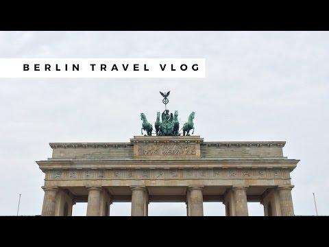 Berlin Germany Solo Travel Vlog ✈ 2016 | Brandenburger Tor, Berlin Wall, Volkswagen Autoforum