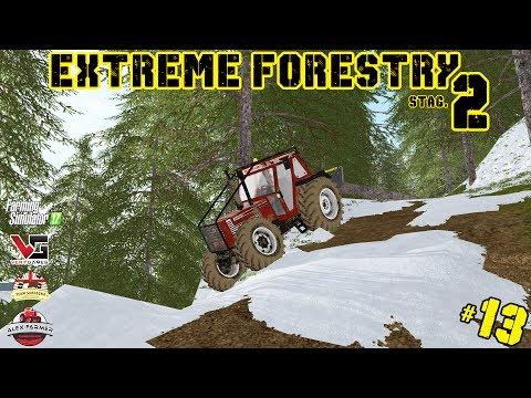 EXTREME FORESTRY STAGIONE 2 | #13 ep. - ALEX FUORI STRADA - FARMING SIMULATOR 2017