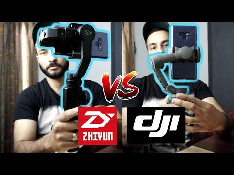 dji osmo mobile 3 vs zhiyun smooth 4 comparison | Quick Unboxing and Comparison