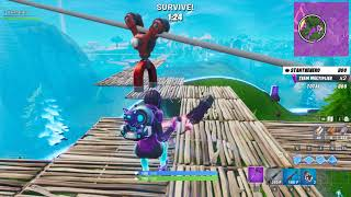 Winning Fortnite's Horde Rush LTM without killing a single enemy (Only 800 points!)