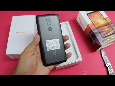 Micromax Canvas Infinity Pro Unboxing, hands on, Camera, Features   Oppo & Vivo Killer?