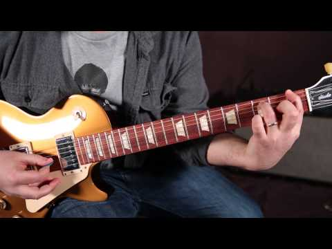 Blue Oyster Cult - Don't Fear The Reaper - Guitar Lesson - How to Play on Guitar, Cowbell riff