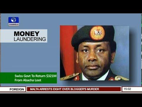 Swiss Govt Return $321m From Abacha Loot |News Across Nigeria|