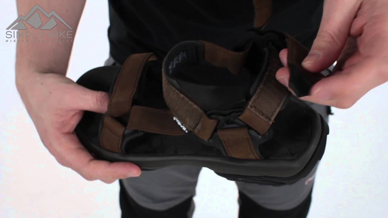1d27eec7c Teva Mens Terra Fi Lite Leather Sandal Brown - www.simplyhike.co.uk -  YouTube
