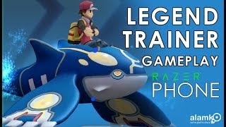 Legend Trainer Guide and Gameplay a Pokemon 3D RPG Game - Razer Phone Max Settings