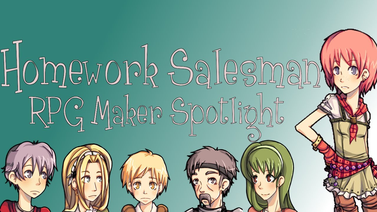 homework salesman rpg walkthrough
